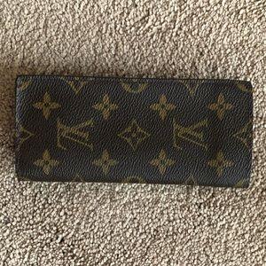 Authentic Louis Vuitton glass case